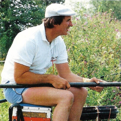 Angler Bob Nudd in Willow Park