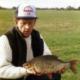 Am Fluss Stour in England angelte Ray Clarke das britische Rekord-Rotauge