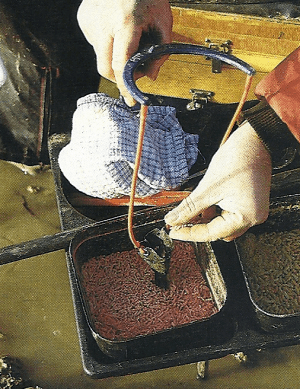 Anfüttern mit dem Katapult