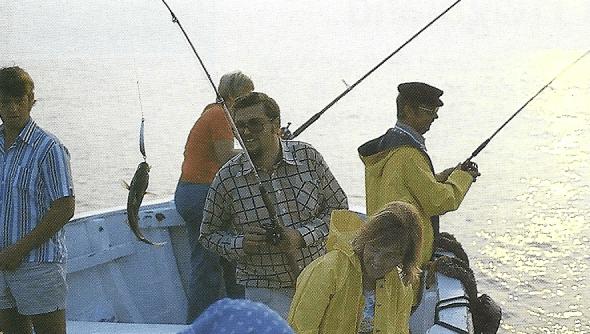 Angeln auf der Nordseeinsel Helgoland