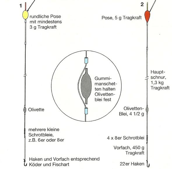 Angeln mit der Bologneser Methode