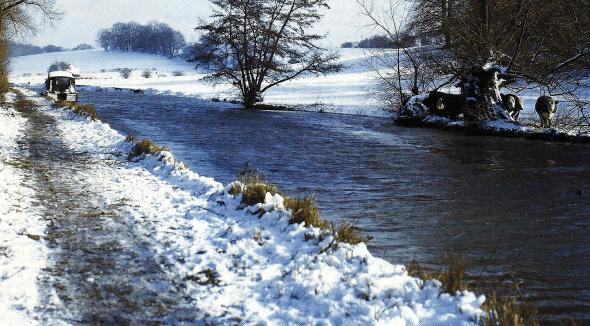Angeltipps für Wintertage am Graben