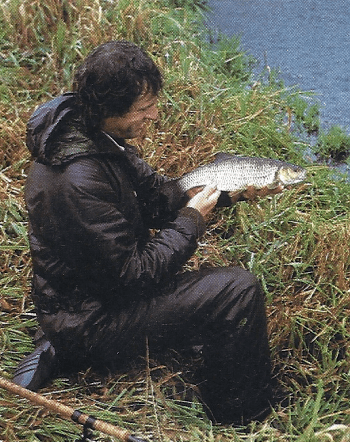 Angler John Bailey
