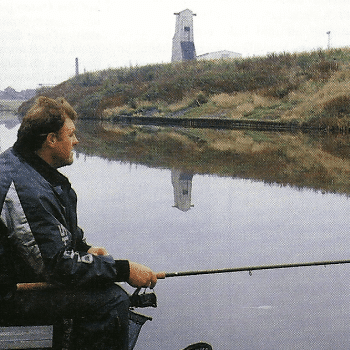 Angler Kevin Ashurst, erfahrenstes Mitglied des englischen Nationalteams
