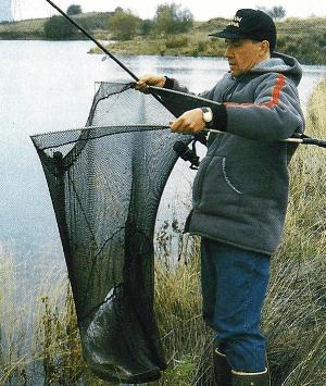 Angler Neville Fickling