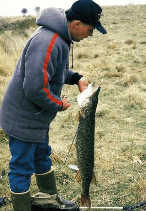 Angler Neville Fickling 8