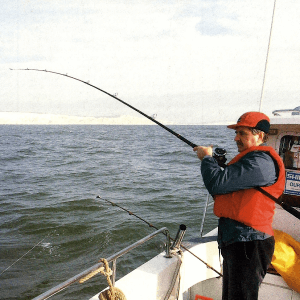 Angler Ted Entwistle