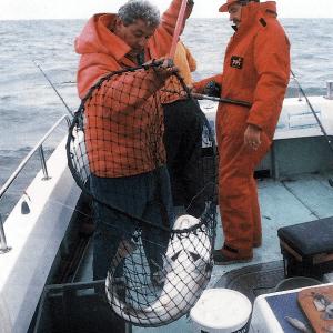 Angler Ted Entwistle