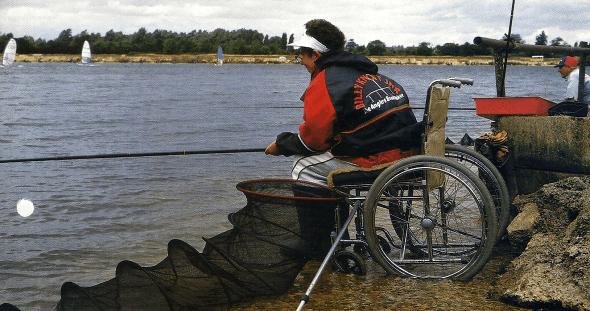Behinderte Angler, Robbie Robertson berichtet über Angelerfahrungen
