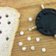 Brotkrumen zum Angeln, die fängigen kleinen Kügelchen