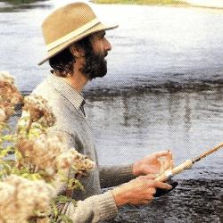 Chris Yates, Angler am Hampshire Avon