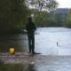 Die Jagst zählt zu den reichen Barbengewässern in Baden-Württemberg