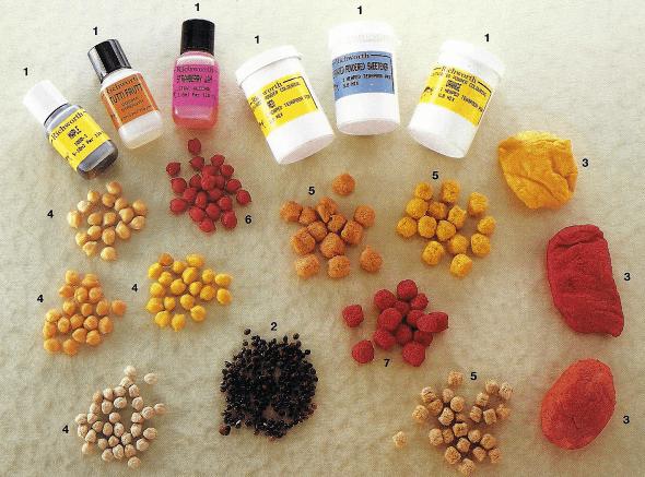 Fängige Farbzusätze für Angel Köder, mit Einsatz von Färbemitteln