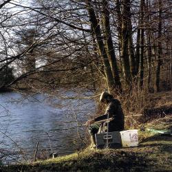 Fischsuche an kleinen tiefen Seen, wie geht man vor?