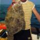Glattbutt, ein linksäugiger Plattfisch, gehört zur Steinbuttfamilie