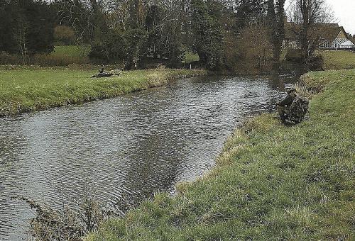 Hechte in Fließgewässern