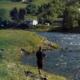 Lachs Angeln in Norwegen, Arthur Oglesby und der Riesenlachs