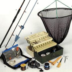 Meeresangeln, Meeresfischen, Ausrüstung, Rute, Zubehör