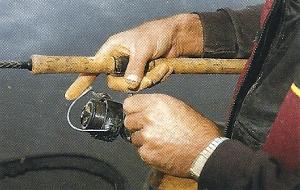 Meisterangler John Allerton am Trent bei Muskham