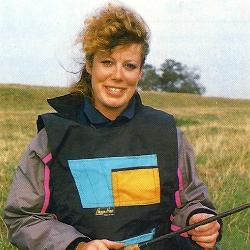 Sandra Halkon-Hunt ist Großbritanniens bekannteste Anglerin. Sie hat nicht nur durch ihre
