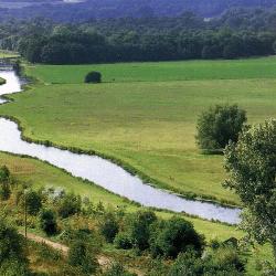 Fischreiche Tieflandflüsse sind bei Anglern beliebt