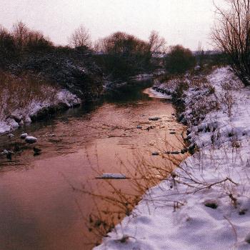 Angeln an einem kleinen schnellen Winterfluss, John Bailey berichtet