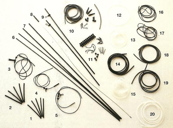 Wie man Wirbel, Anti-Tangles und Beads zum Angeln einsetzt