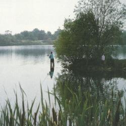 Distanzfischen auf Karpfen