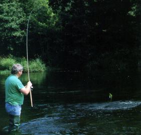 Angler Mal Storey