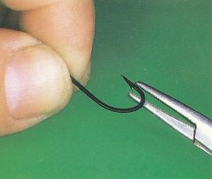 Hair-Rigs und Outbarb-Haken für Karpfen
