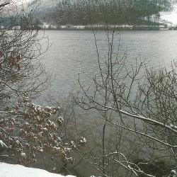 Stauseen im Winter