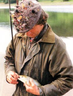 Fischen mit der Naßfliege