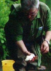 Meister-angler Matthias Rebaschus
